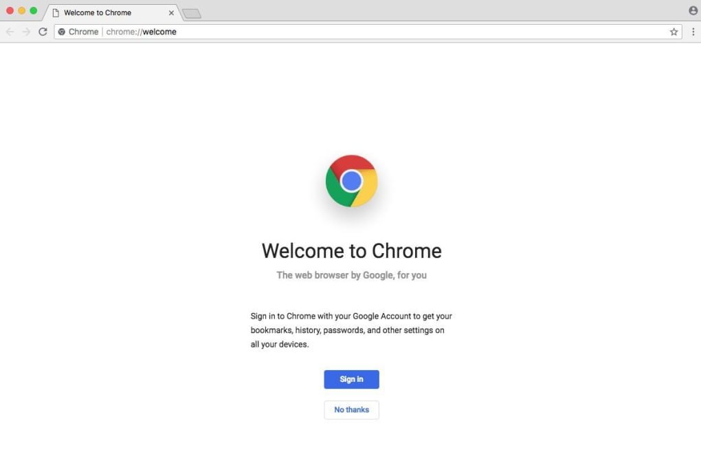 google chrome pour mac os x 10.6.8