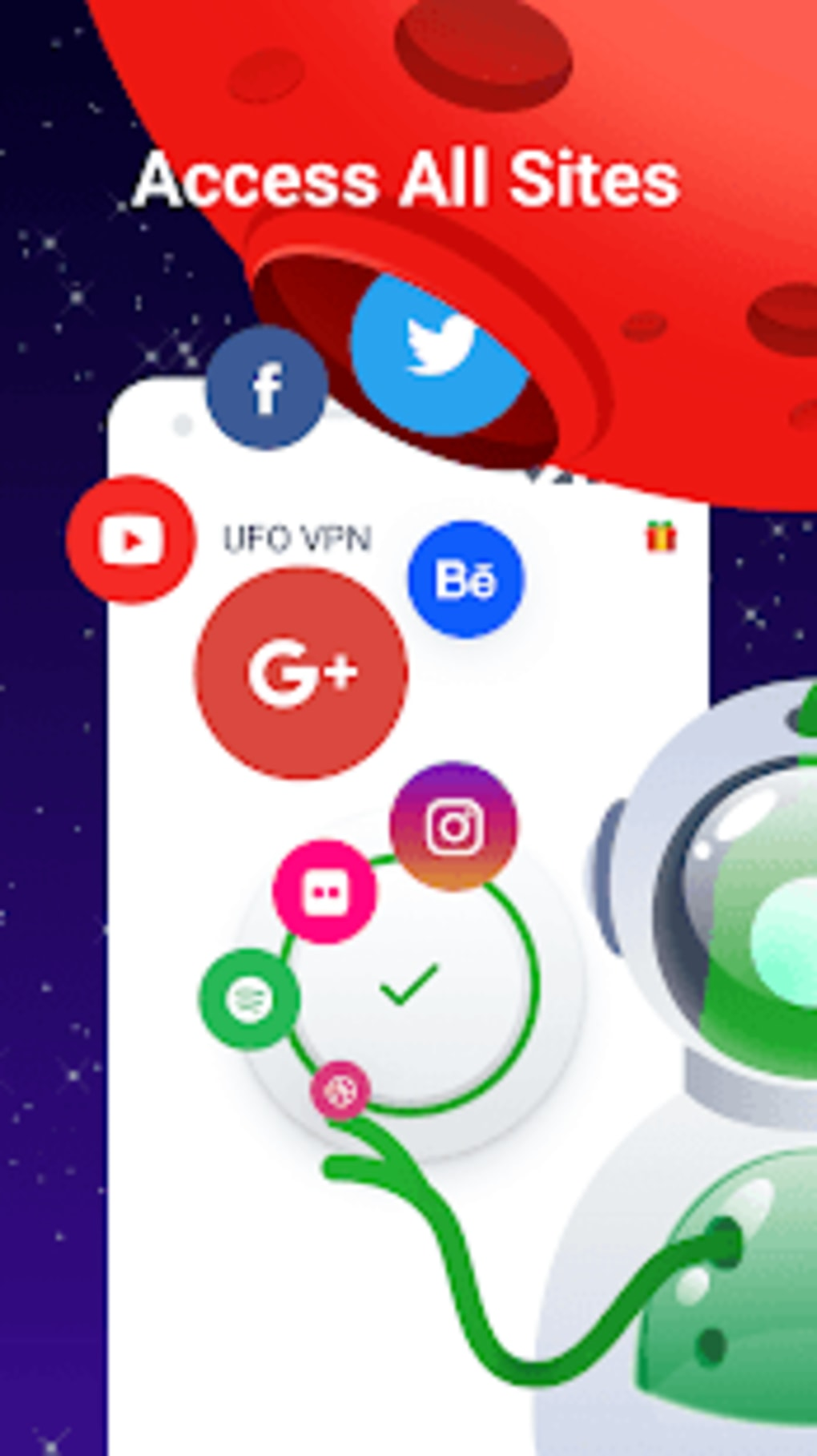 UFO VPN - Best Free VPN Proxy Secure WiFi Master for Android - Download