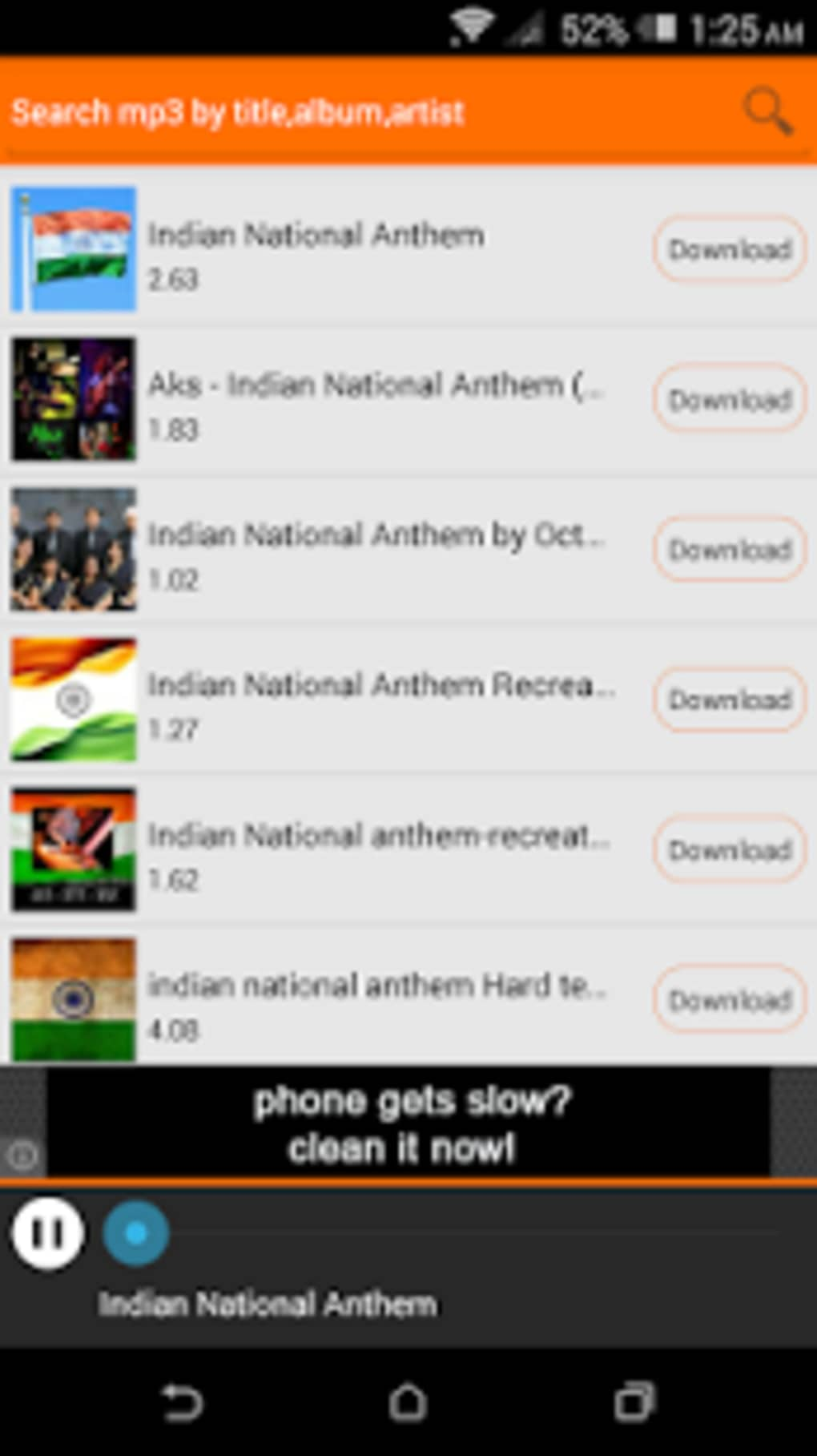 Mp3Lio - Free Mp3 Downloader for Android - Download