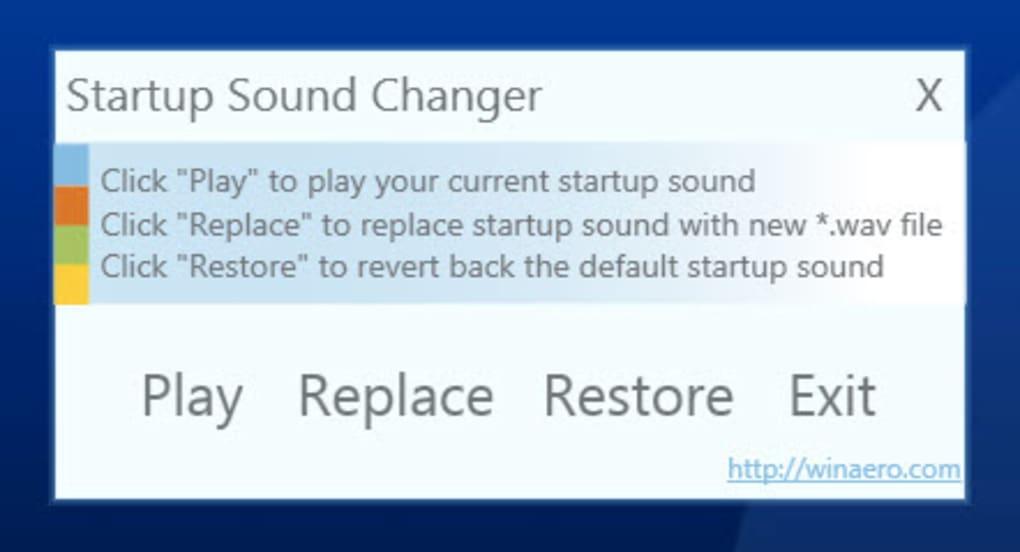 Startup Sound Changer - Download