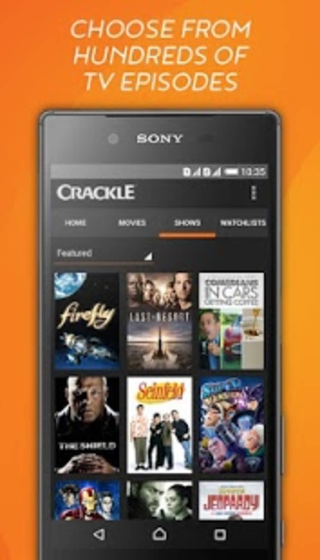 free tv movies for android