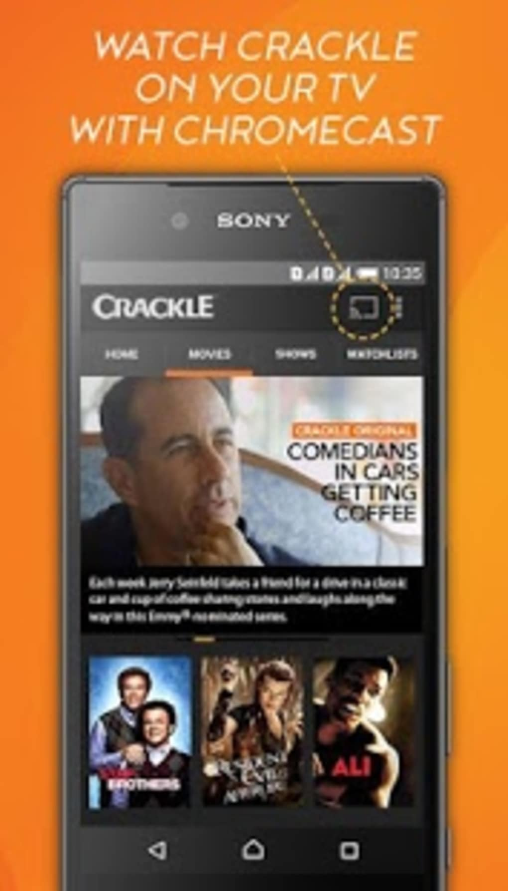 crackle movies  tv apk download