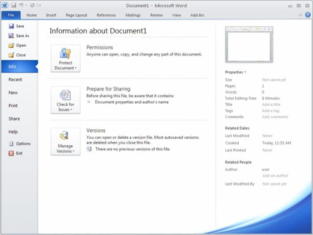 ms office download free 2010