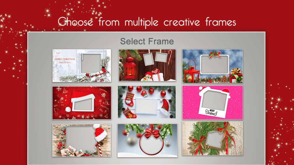 Merry Christmas Photo Frames - Download