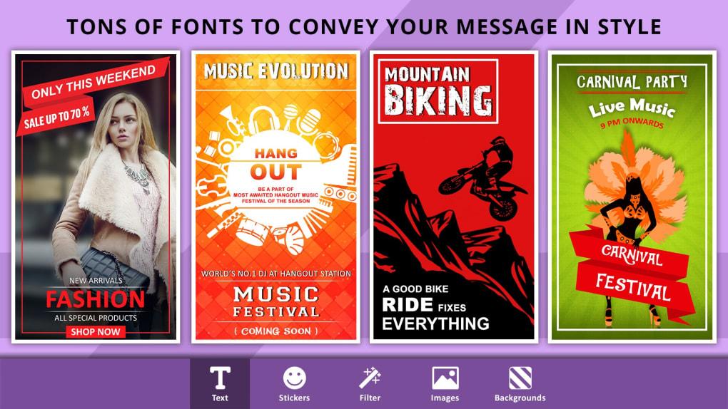 Poster Maker, Flyer Designer, Ads Page Designer - Download