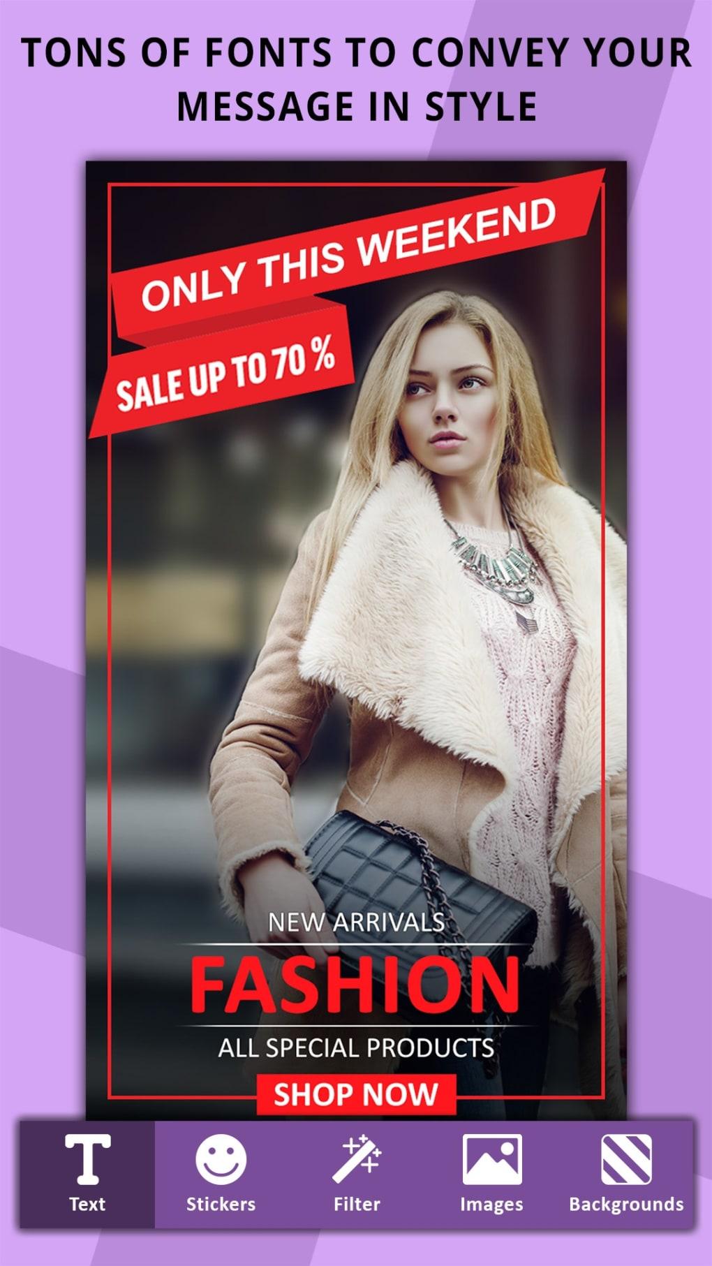 poster maker flyer designer ads page designer ダウンロード