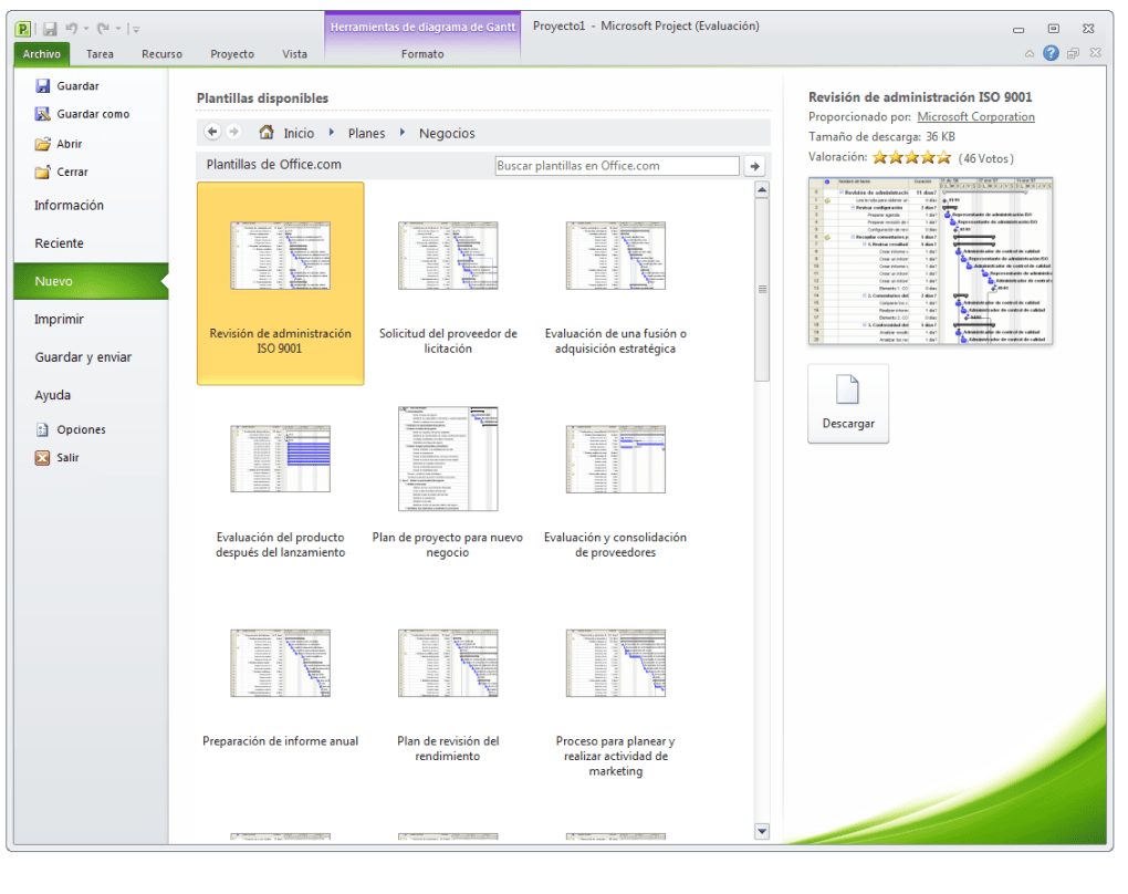 Microsoft Project - Descargar