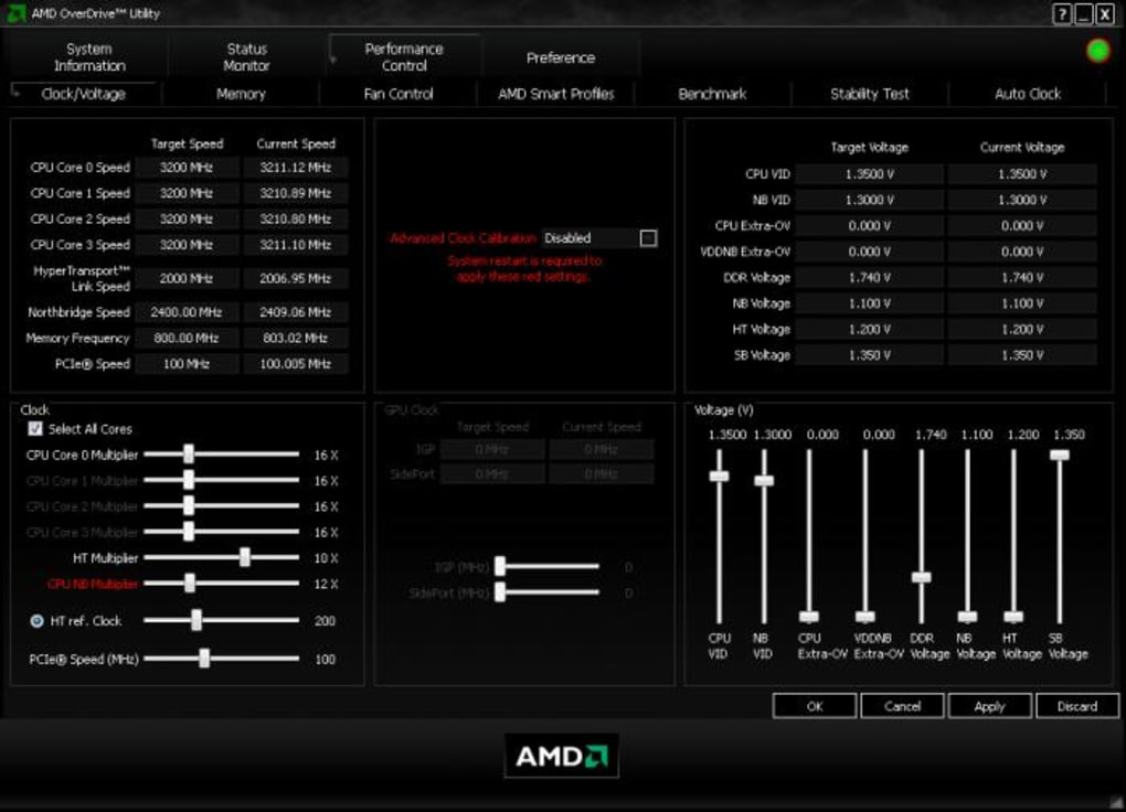 AMD OverDrive - Download