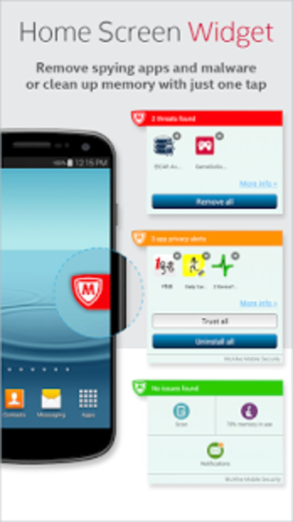 Mcafee Security Amp Power Booster For Android Download