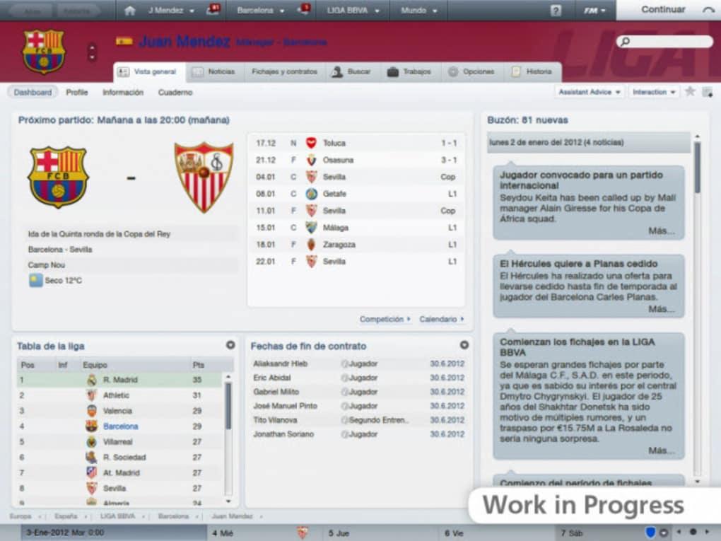 2018 version of popular football management sim