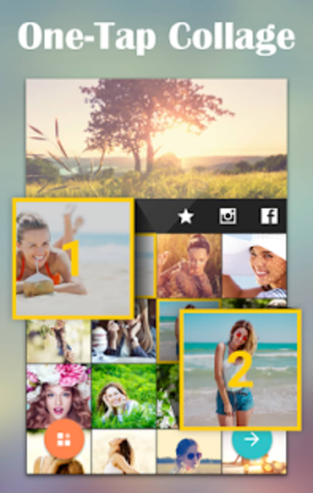 Free download photo collage maker for android phone