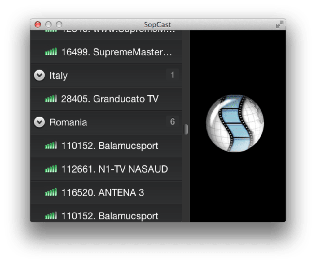 sopcast macbook