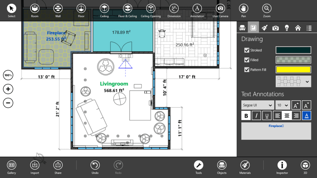 free plan drawing software for windows 10