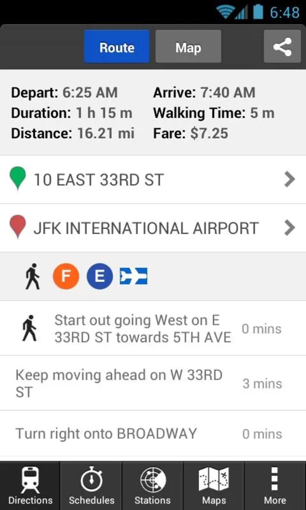Hopstop app nyc