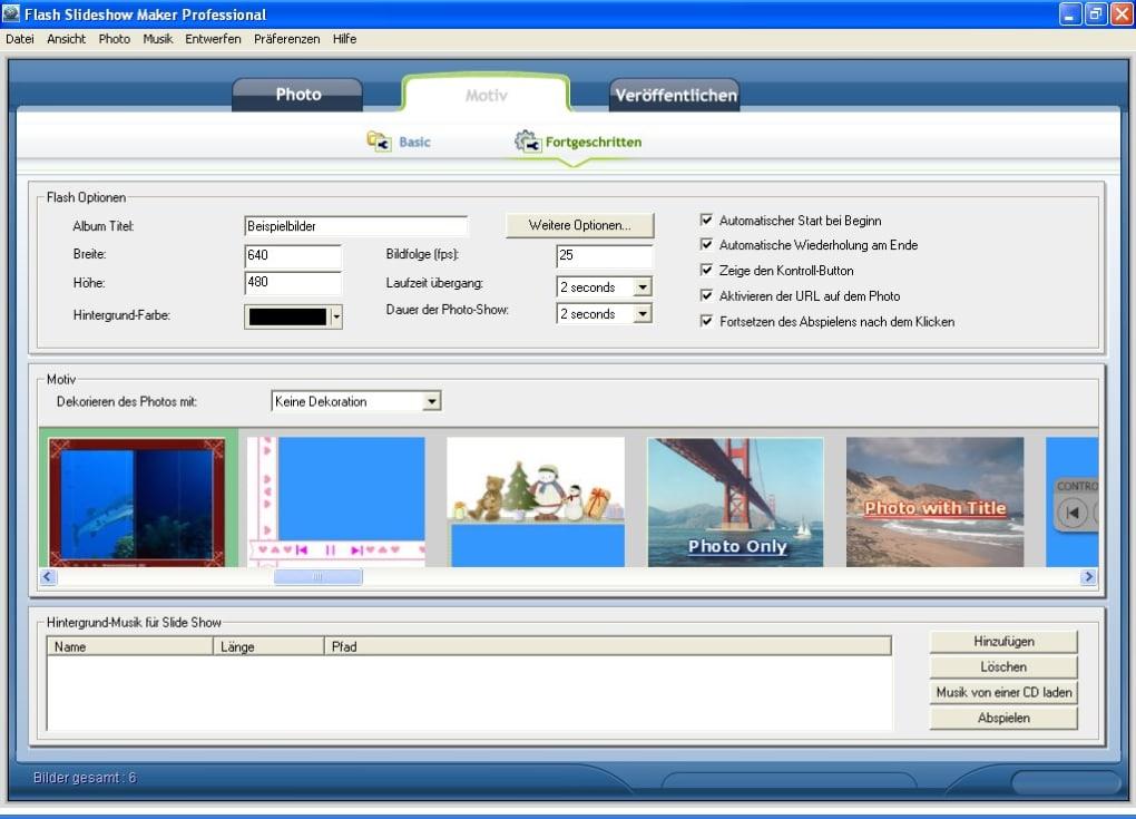 Flash Slideshow Maker Download