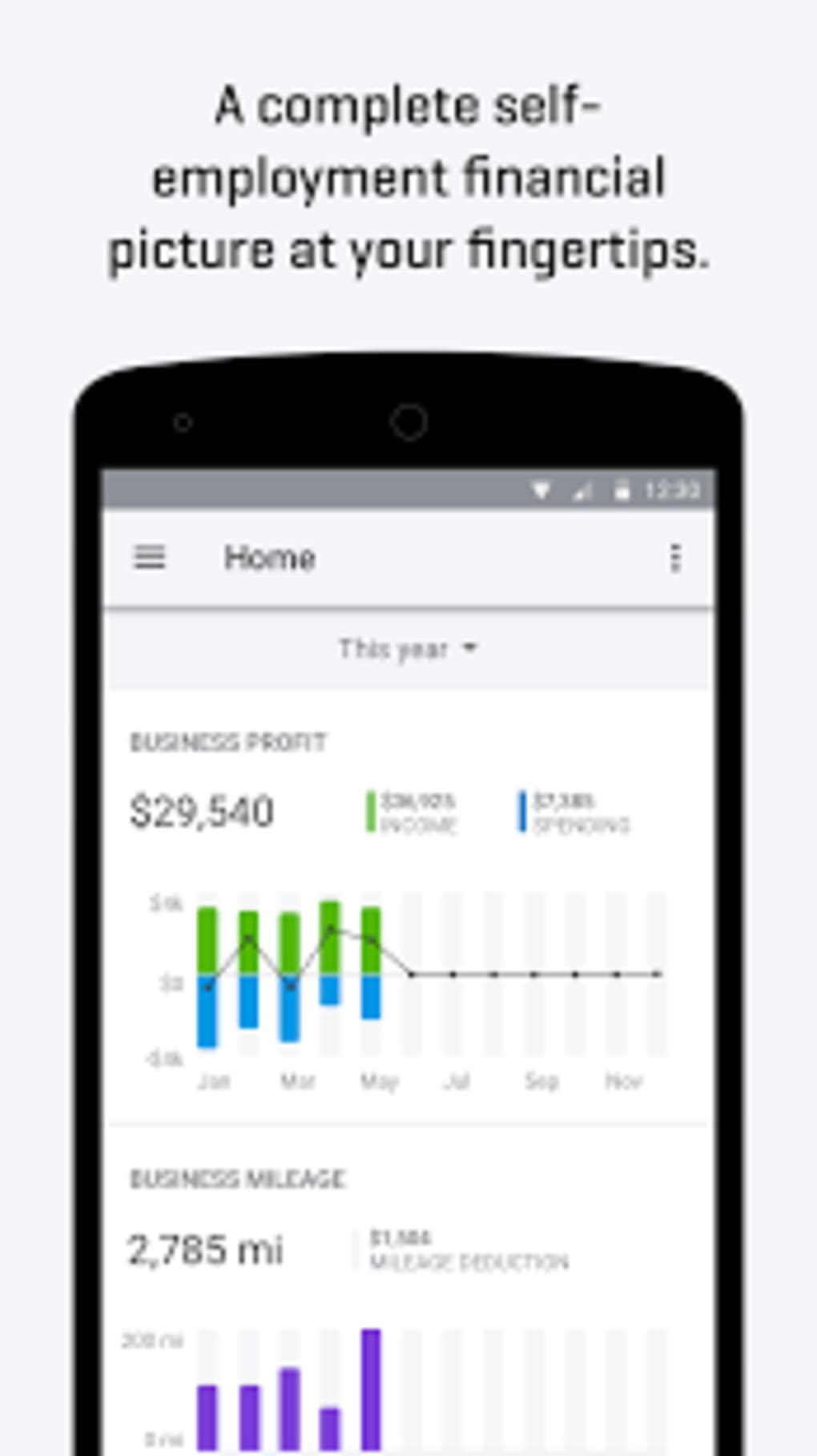 QuickBooks Self-Employed for Android - Download