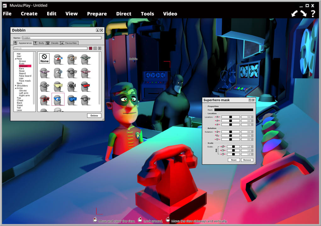 3d animation software for windows xp