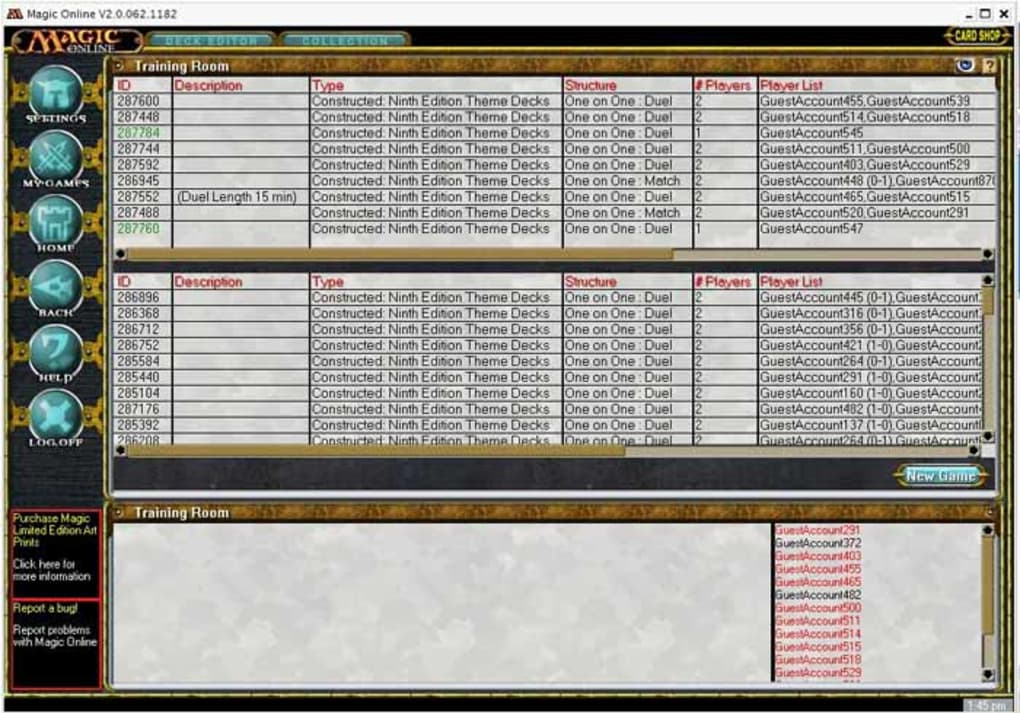 Magic, The Gathering Online - Download