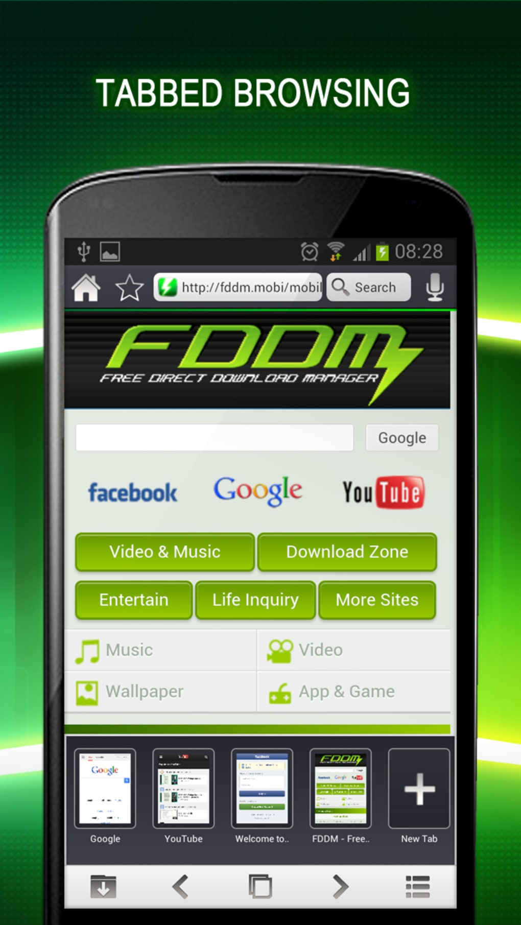 internet download manager for android uptodown