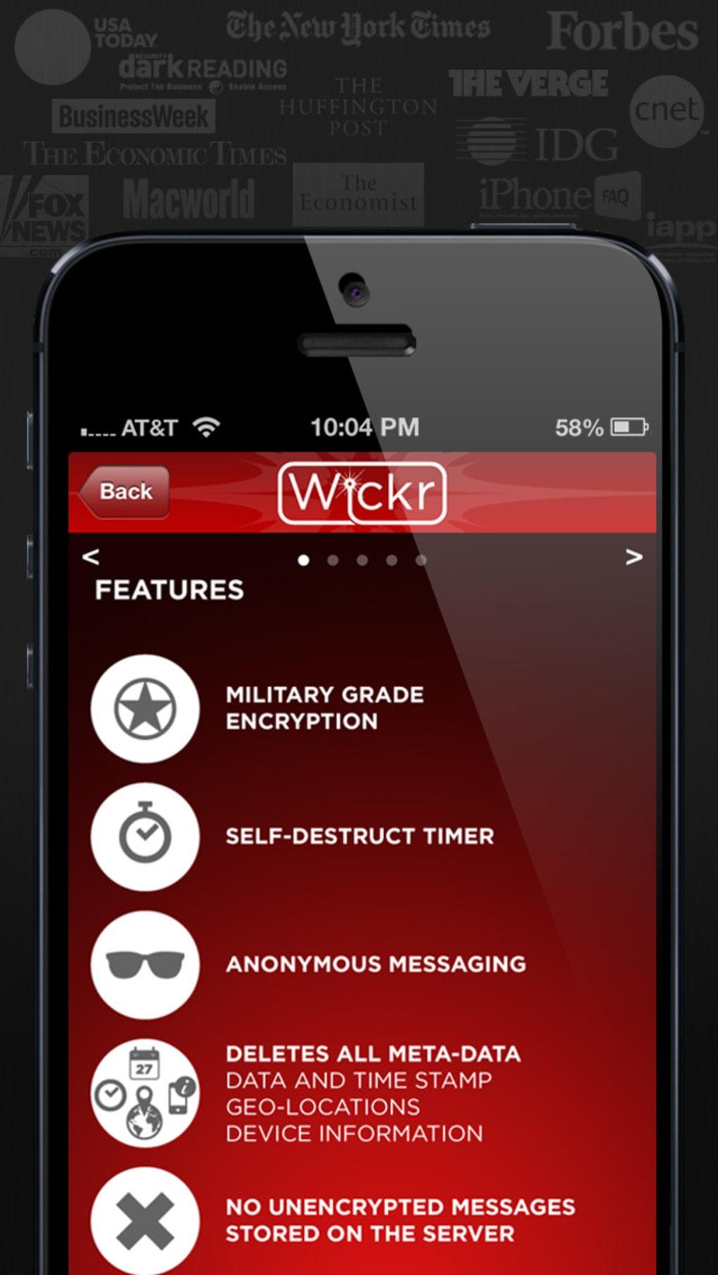 Wickr Für Iphone Download