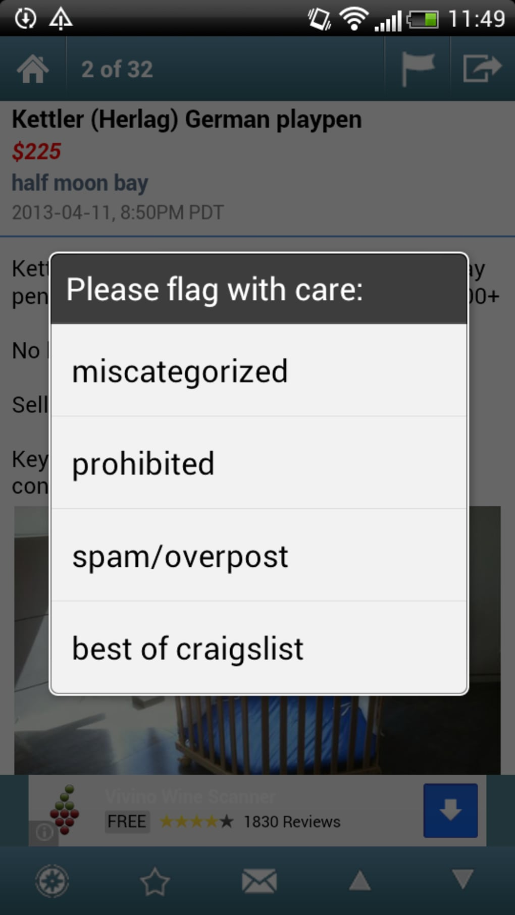 Craigslist Mobile for Android - Download