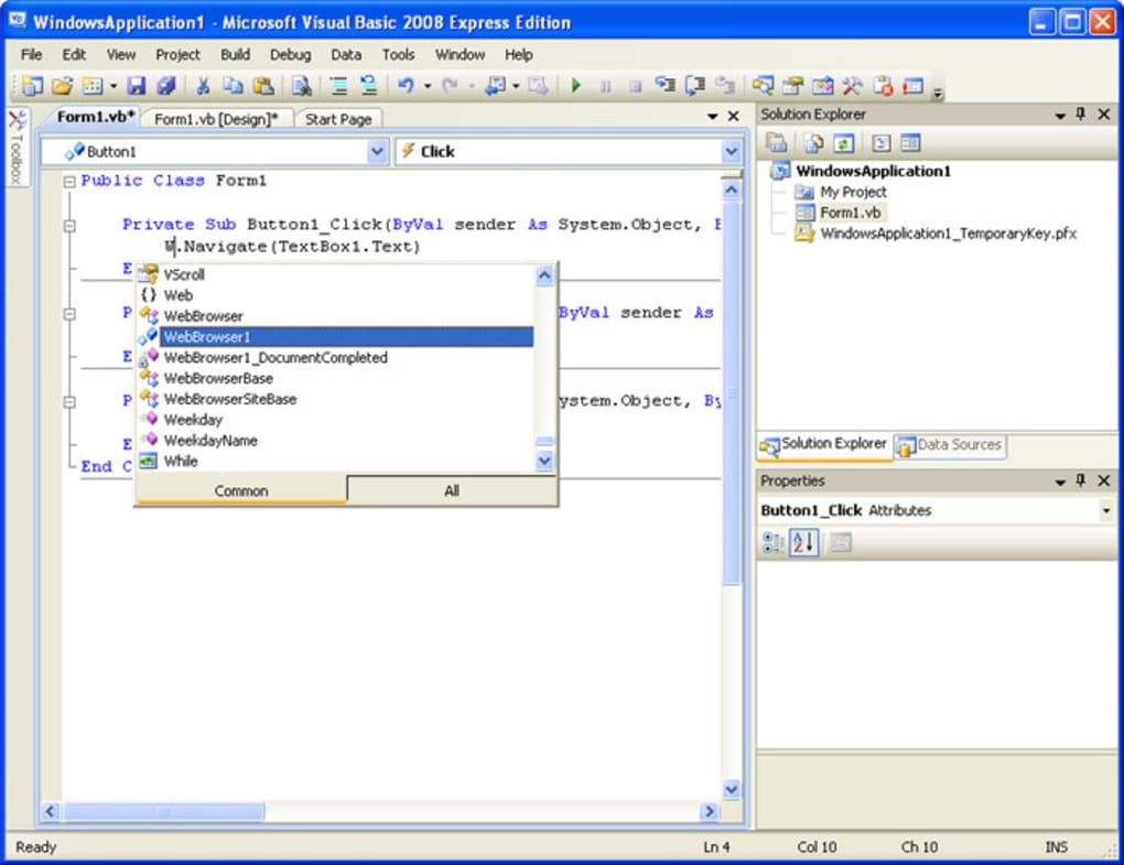 Microsoft Visual Basic - تنزيل