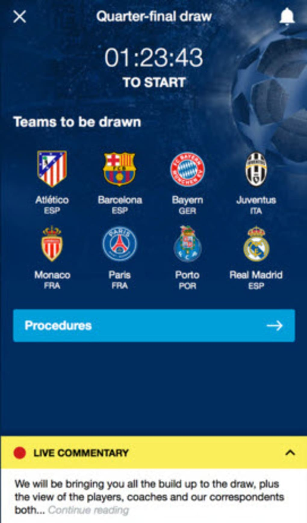 UEFA Champions League for Android - Download