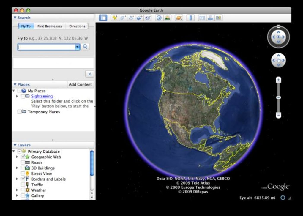 Google Earth Pro is a professional application that provides you with an interactive globe you can use in planning, decision making and analysis.