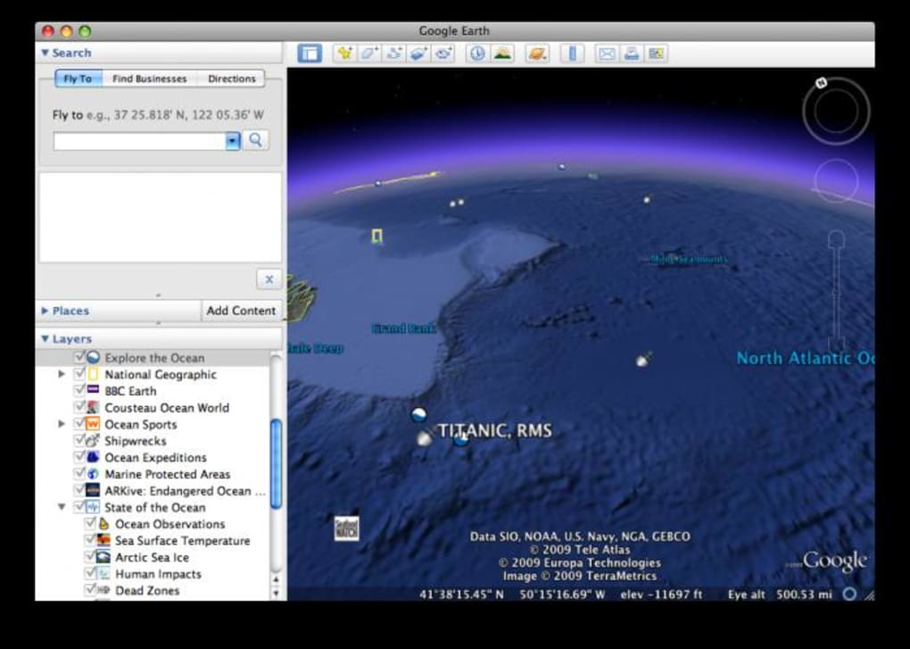 Google Earth for Mac - Download