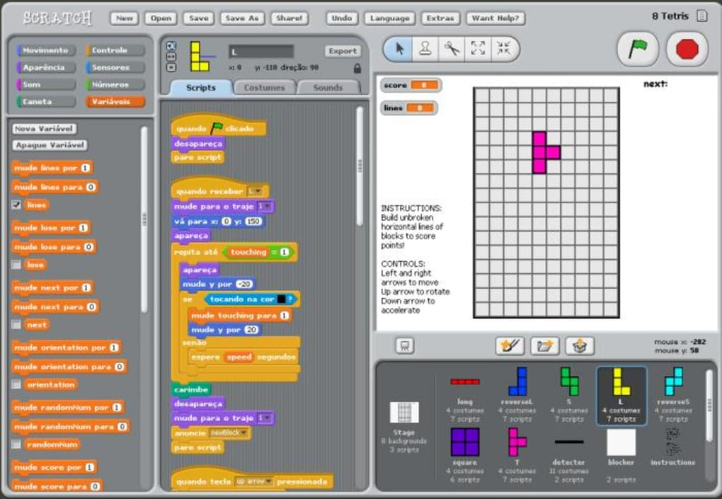 Krypton scratch programming for android apk download.