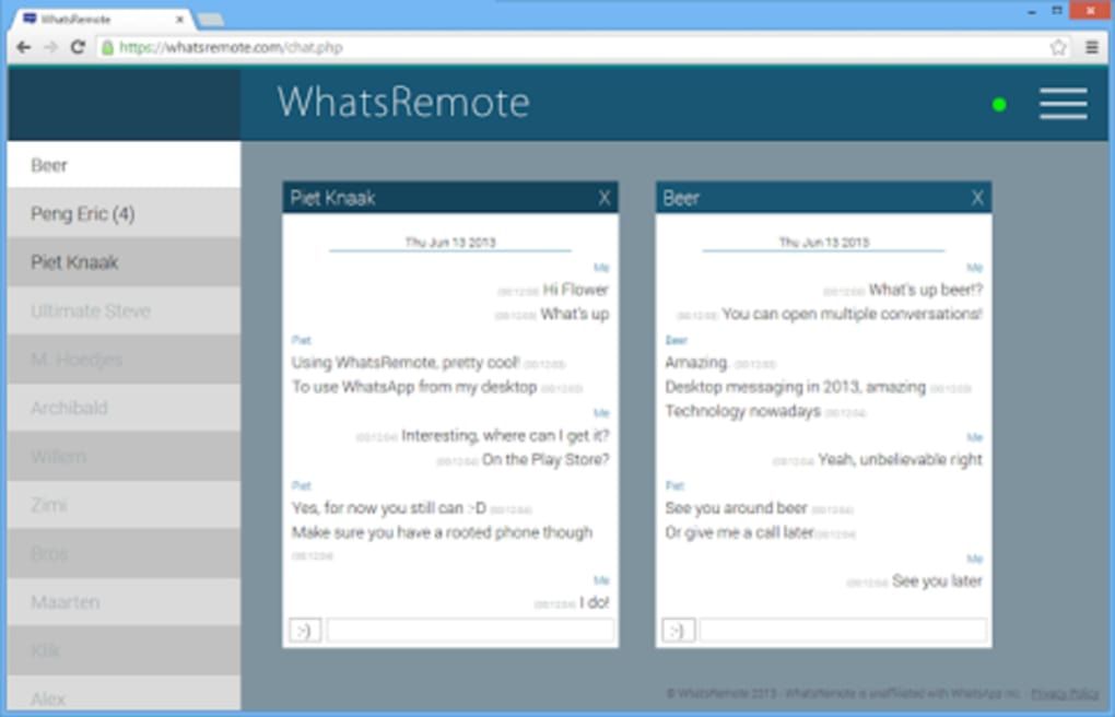 whatsremote