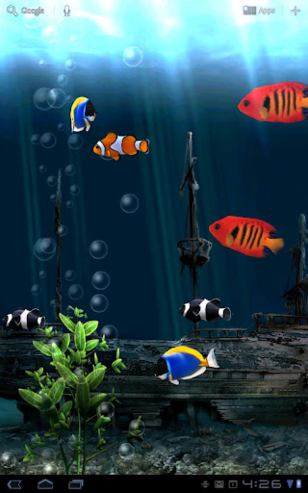 Aquarium Free Live Wallpaper For Android 無料 ダウンロード