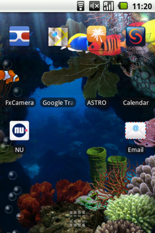 Aquarium Free Live Wallpaper Für Android Download
