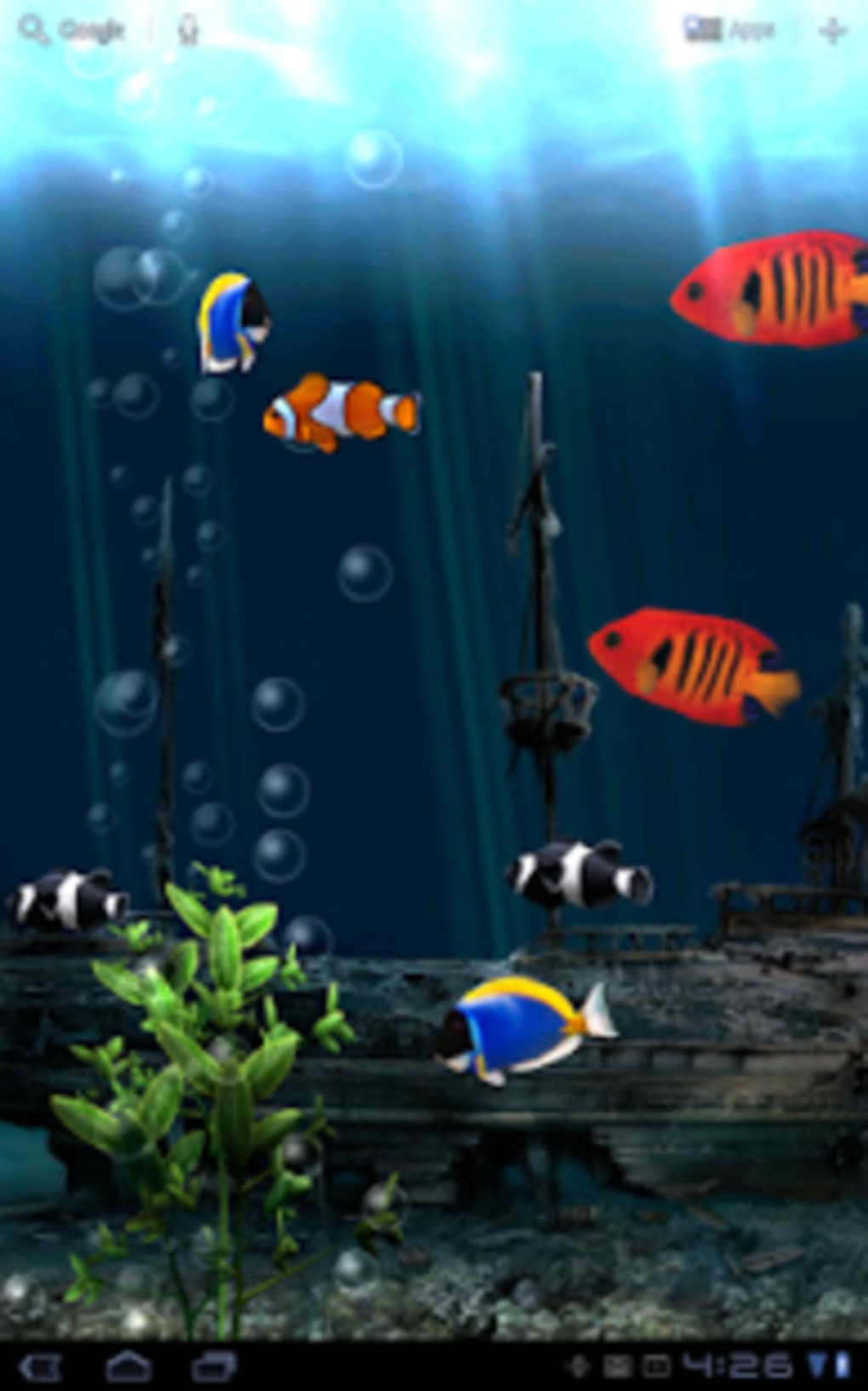 ... Aquarium Live Wallpaper ...