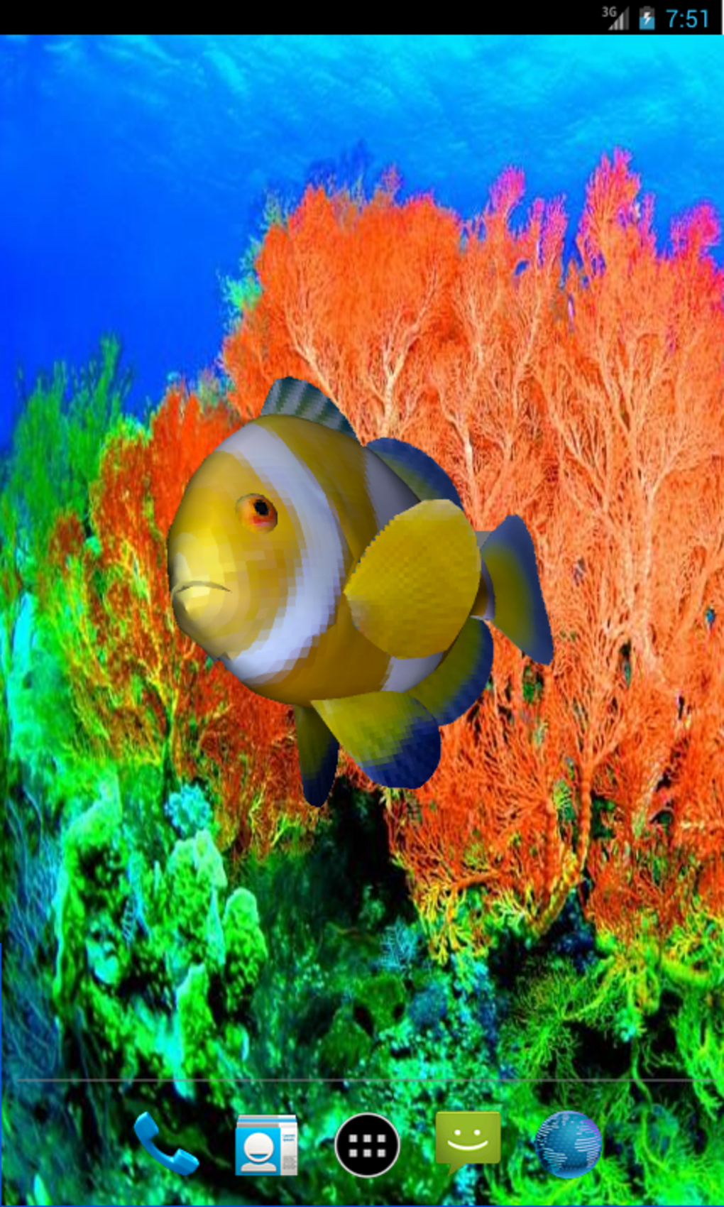 3d Clownfish Live Wallpaper For Android Download