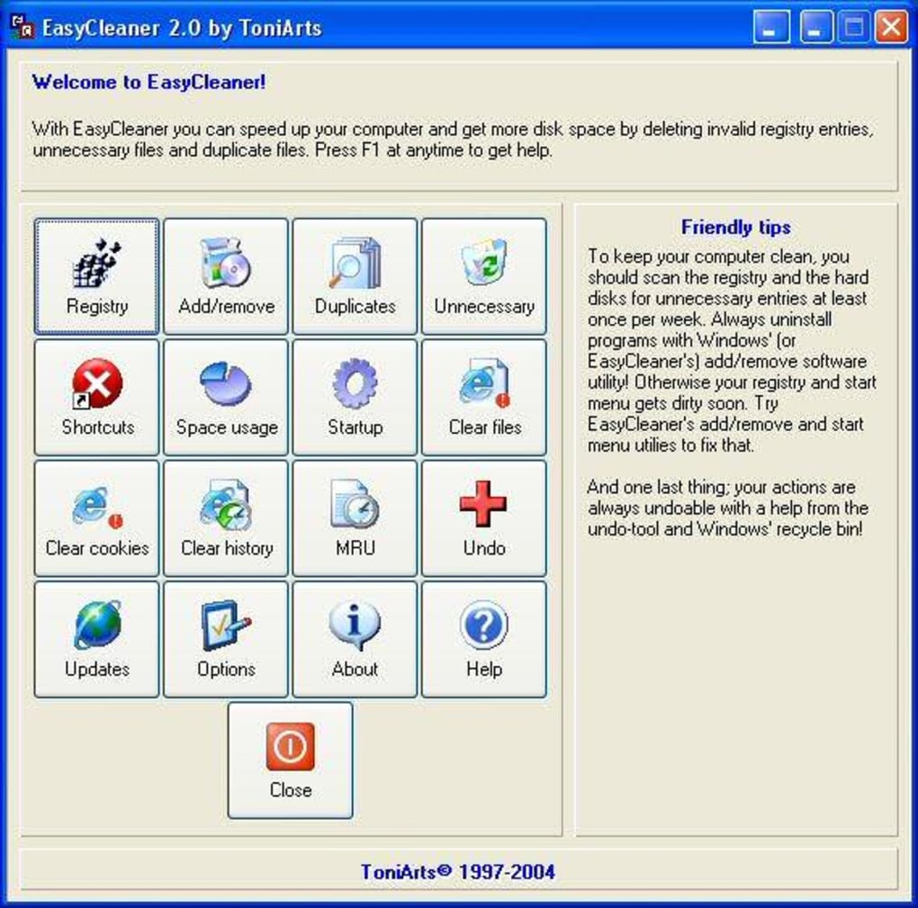 EASYCLEANER WIN7 TÉLÉCHARGER