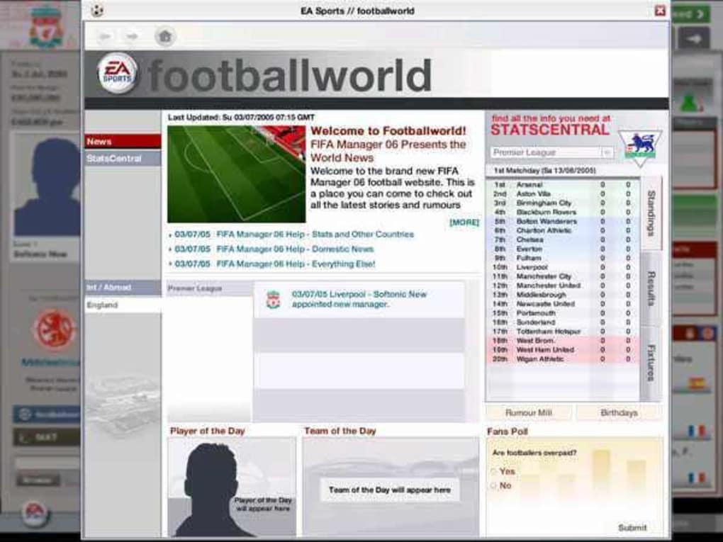 Fifa Manager 06 Download