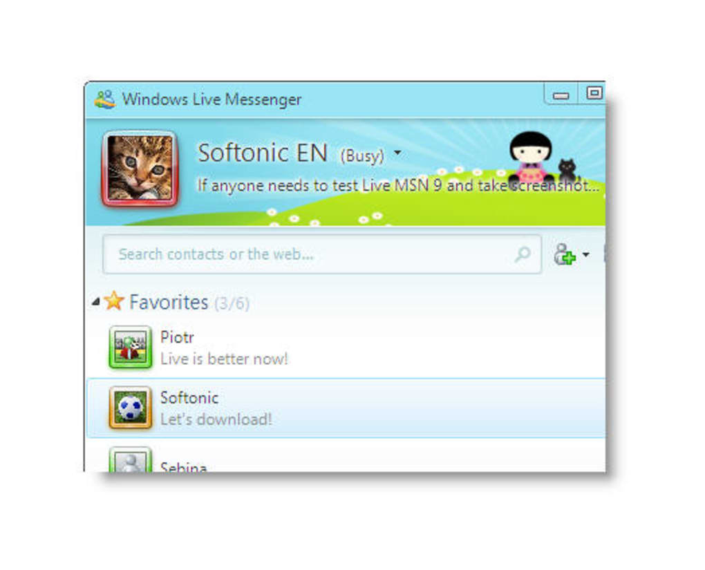 Hotmail instant messenger download free.
