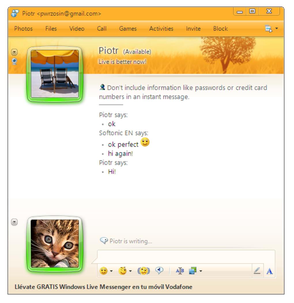 MSN MESSENGER 20009 TÉLÉCHARGER