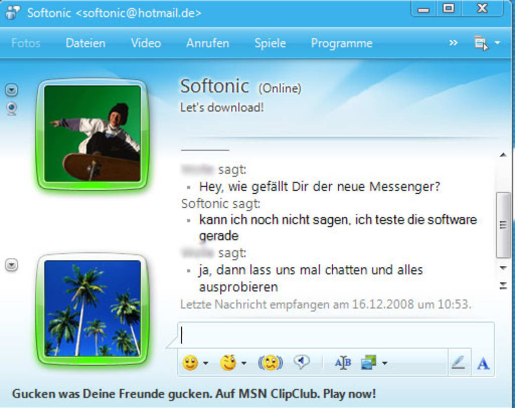 msn messenger 20009