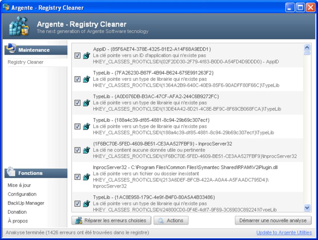Aml free registry cleaner télécharger.