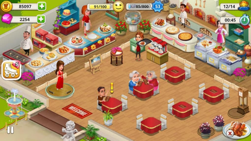 Cafe Tycoon Cooking Restaurant Simulation Game Apk For