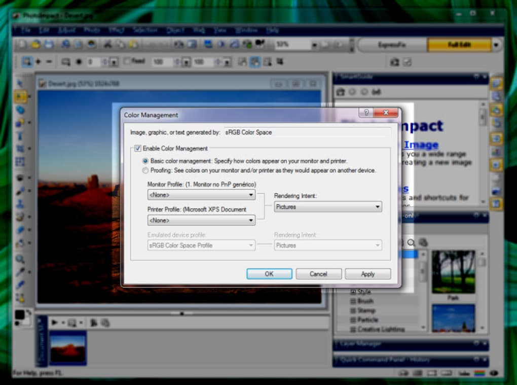 photoimpact gratuit pour windows 7