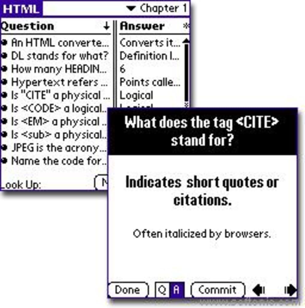 basic html para palm os download