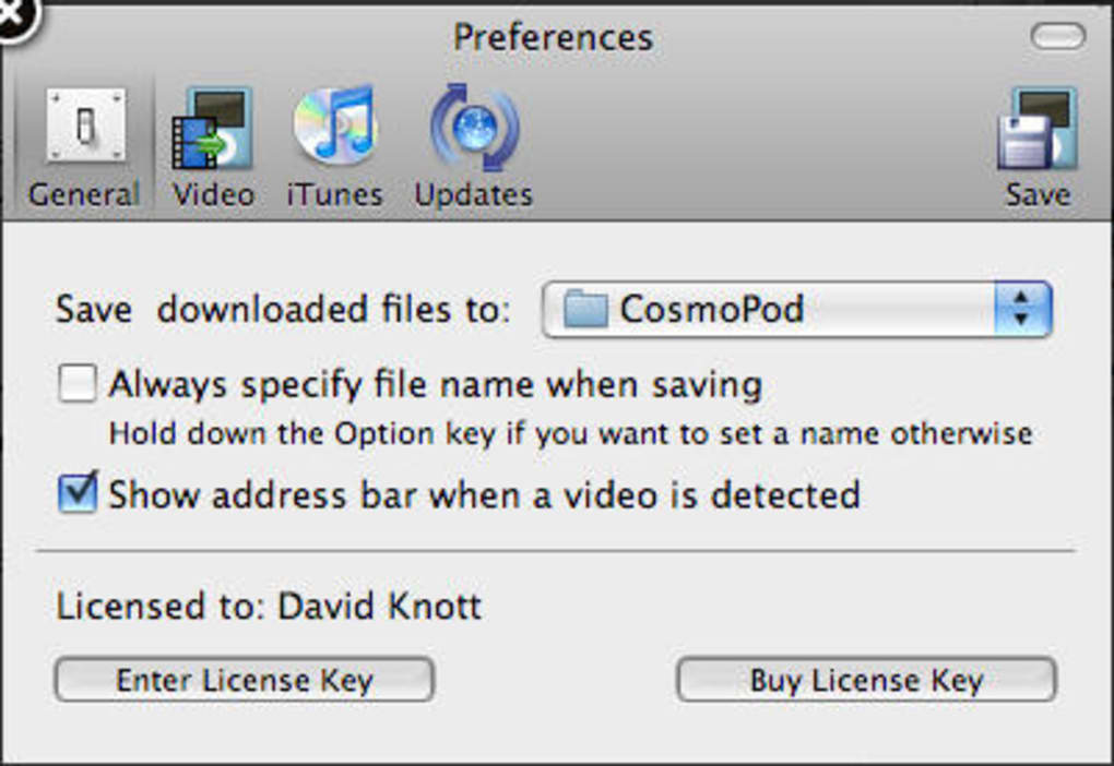 CosmoPod for Mac - Download