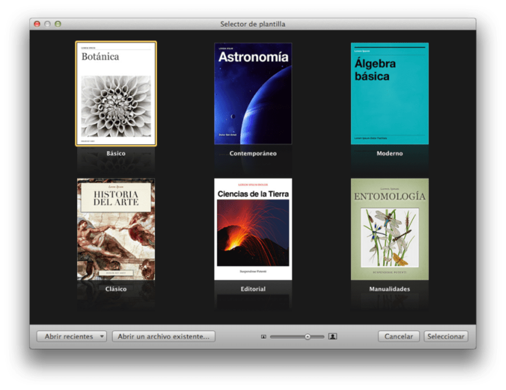 iBooks Author para Mac - Descargar