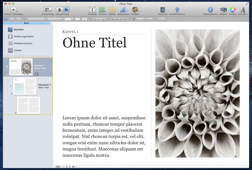 iBooks Author für Mac - Download