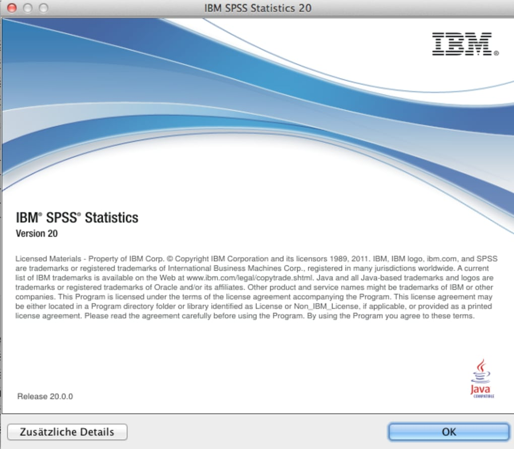 ibm spss 20 product key