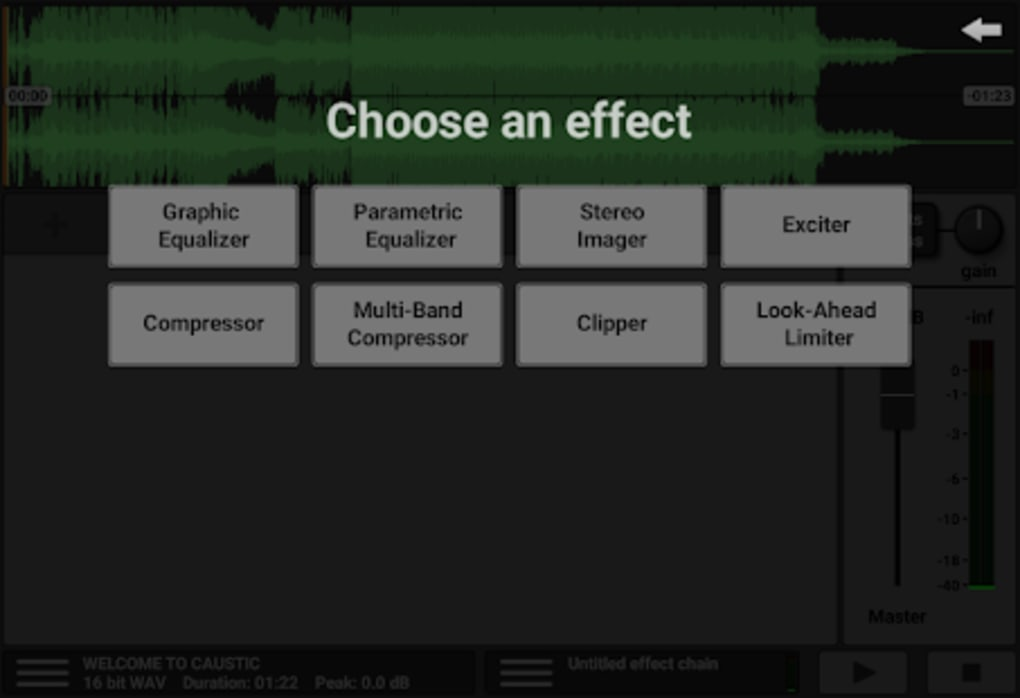 Caustic Mastering for Android - Download