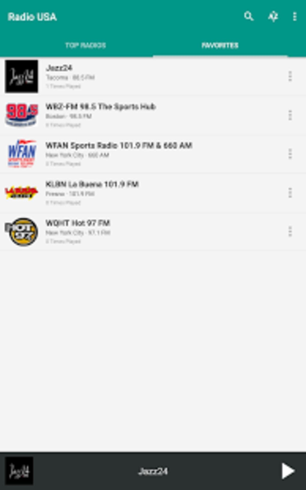 Radio USA for Android - Download